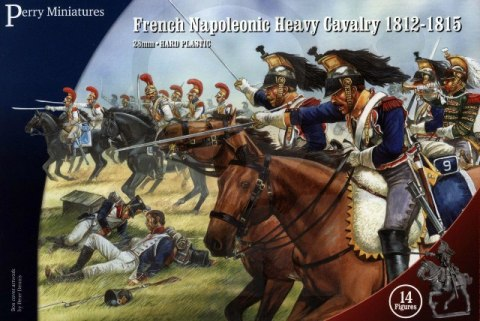 French Napoleonic Heavy Cavalry 1812-1815 Cuirassiers/Carabiniers 14 szt.