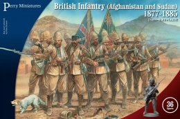 British Infantry in Afghanistan and Sudan 1877-85 - 36 szt.