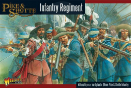 Pike & Shotte Infantry Regiment plastic boxed set - 40 szt.