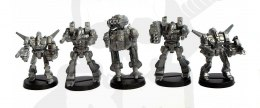 Mechs steel warriors Mech Mechy 5 szt.