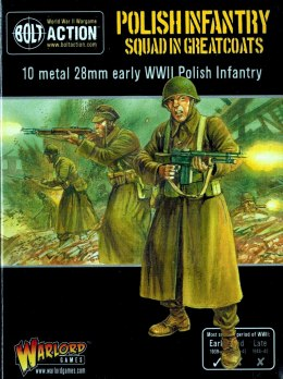 Polish Infantry Squad in greatcoats - Polska piechota 1939 - 10 szt.