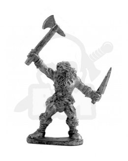Barbarian with an axe - 1 pc