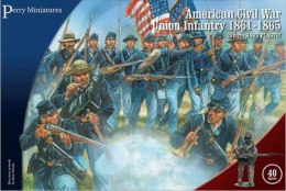 American Civil War Union Infantry 1861-65 40 szt. WBM