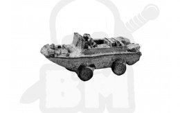 Jeep amfibia - Amphibious Jeep 1:300 6mm