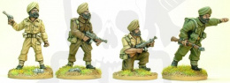 Sikh Infantry Command 4 szt.