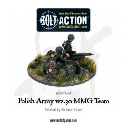 Polish Army wz.30 MMG team - Polska piechota 1939