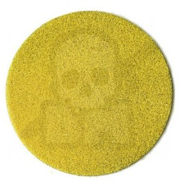 3 mm electrostatic grass, yellow 20 g