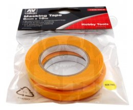 Masking tapes 6 mm - 18 m (2 pcs)
