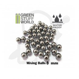 Mixing Paint Steel Bearing Balls in 8mm x30