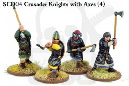 Crusader Knights with Double Handed Weapons (4)
