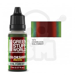 Colorshift Chameleon Acrylic Paint Evil Forest farba 17ml
