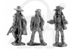 Doc Holliday & Wild Bill Hickock - rewolwerowcy 3 szt.