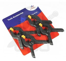 6,5cm Model spring clamps - 4 pieces