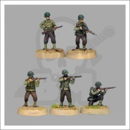 US Riflemen skirmishing