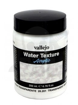 Vallejo 26201 Diorama Effects 200 ml Transparent water