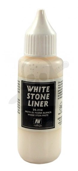 Vallejo 26234 White Stone Liner 35 ml.