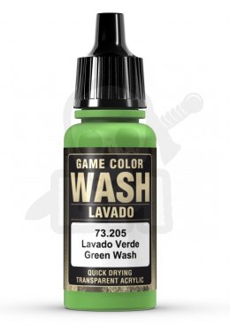 Vallejo 73205 Game Color Wash 17 ml Green