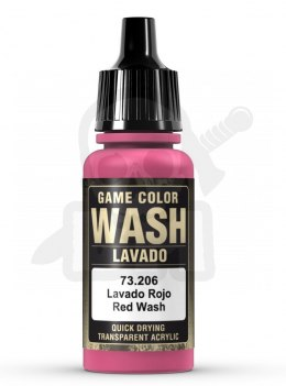Vallejo 73206 Game Color Wash 17 ml Red