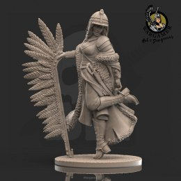 Oleńka, the Winged Hussar (28 mm)