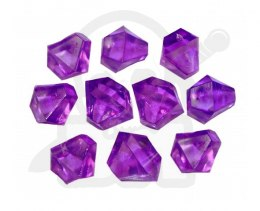 Crystal Gem 10 mm Purple