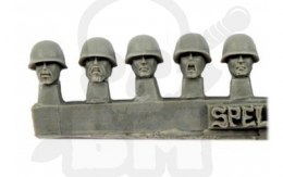 Guards Heads in M1 Helmets