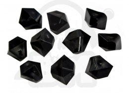 Opaque Gem 10 mm Black