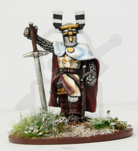 Ordensstaat Warlord with Heavy Weapon SAGA