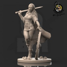 Lagertha, the Shieldmaiden (28 mm)