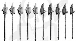 Halberd - metal weapon 10 pc