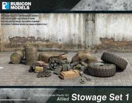 Allied Stowage Set 1 (28mm sized)