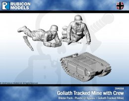 Goliath Tracked Mine with Crew (28mm sized)