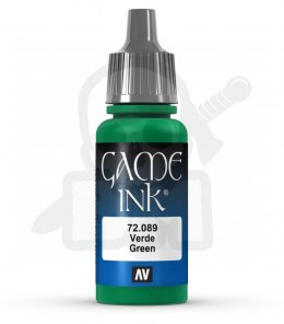 Vallejo 72089 Game Color Ink 17 ml Green