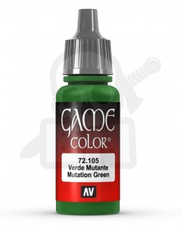 Vallejo 72105 Game Color 17 ml Mutation Green