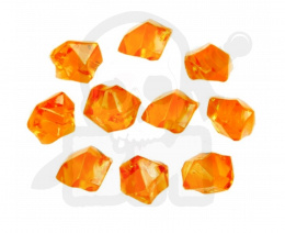 Crystal Gem 14 mm Orange