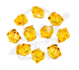 Crystal Gem 14 mm Yellow