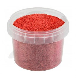 Posypka Red Sand 1-1,5 mm do makiet - 120 ml