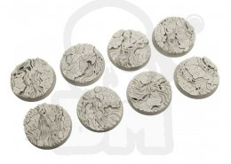 Spooky Bases, 32mm Round - 4 pcs