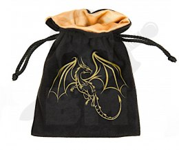 Golden Dragon Dice Bag 15x12cm