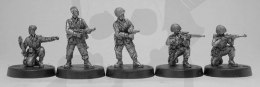 1944-45 US Airborne support, inc pathfinder, officer & sniper