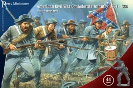 American Civil War Confederate Infantry 1861-65 - 44 szt.