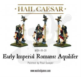 Early Imperial Romans Aquilifer rzymski legionista
