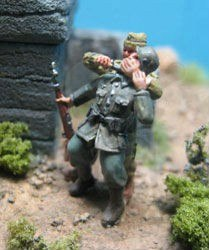 1940-45 British commando killing German sentry