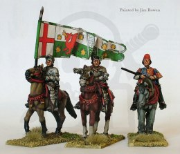 Lancastrian mounted high comman 3 szt. Wars of the Roses 1455-1487