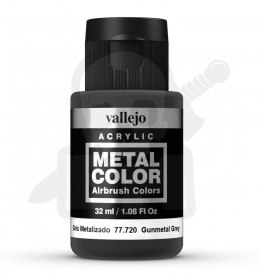 Vallejo 77720 Metal Color 32 ml Gunmetal Grey