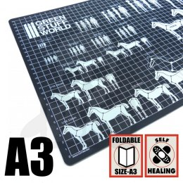 Scale Cutting Mat - A3