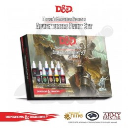 Akces Ap Farb Set Warpaints D&D Adventurers Paint zestaw farb
