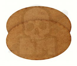 HDF Bases - Oval 170 mm x 105 mm - 2 pieces
