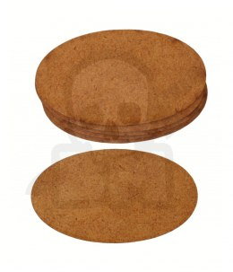 HDF Bases - Oval 93 mm x 53 mm - 6 pieces