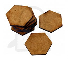 HDF Bases - Hexagonal 35 mm x10
