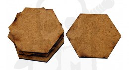 HDF Bases - Hexagonal 50 mm x5